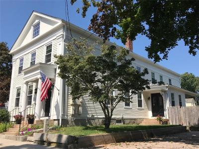 Stonington Single Family Home For Sale: 15 Church St (Mystic)