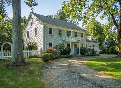 Hamden Single Family Home For Sale: 1080 Ridge Road