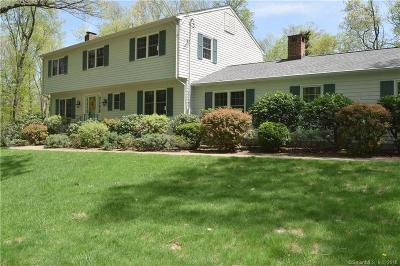 Ridgefield Single Family Home For Sale: 26 Yankee Hill Road