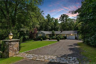 Ridgefield Single Family Home For Sale: 140 Bayberry Hill Road