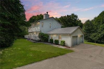 RIDGEFIELD Single Family Home For Sale: 98 Old Sib Road