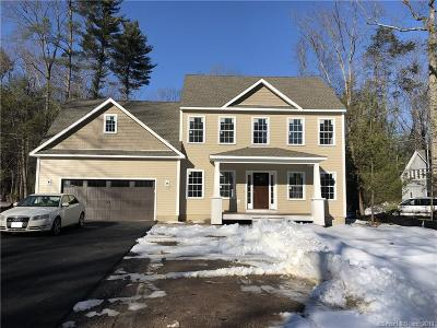 Simsbury Single Family Home For Sale: 44 Sand Hill