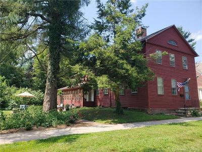 Wethersfield Single Family Home For Sale: 341 Main Street