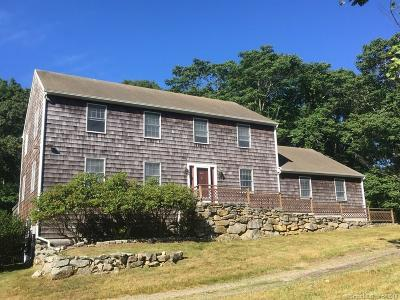 Stonington Single Family Home For Sale: 43 Cove Road