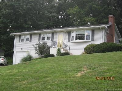 Meriden Single Family Home For Sale: 58 Lynn Drive