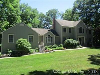 Southbury Single Family Home For Sale: 78 Wolf Pit Road