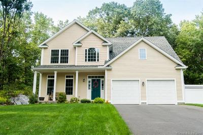 Cheshire Single Family Home For Sale: 40 West Ridge Court