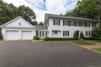 Darien Single Family Home For Sale: 36 Shields Road