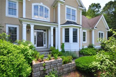 Simsbury Single Family Home For Sale: 8 Hallview Drive