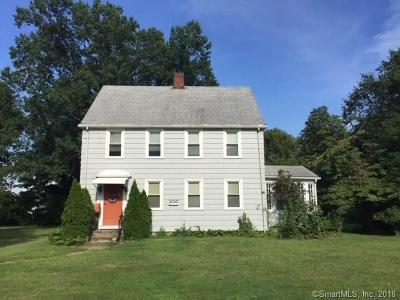 Rocky Hill Single Family Home For Sale: 150 Old Main Street