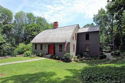 RIDGEFIELD Single Family Home For Sale: 14 Barlow Mountain Road