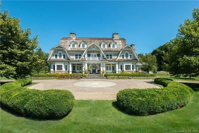 New Canaan Single Family Home For Sale: 727 Smith Ridge Road
