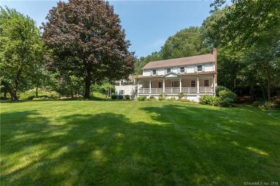 Darien Single Family Home For Sale: 45 Delafield Island Road