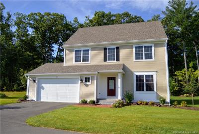 Simsbury Single Family Home For Sale: 20 Carson Way #20