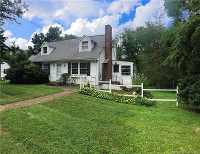 Danbury Single Family Home For Sale: 25 Blackberry Road