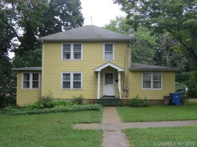 Meriden Single Family Home For Sale: 82 Buckingham Street