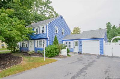West Hartford Single Family Home For Sale: 54 Longlane Road