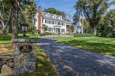 Fairfield County Single Family Home For Sale: 10 Lee Road