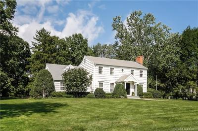 Darien Single Family Home For Sale: 127 Hanson Road