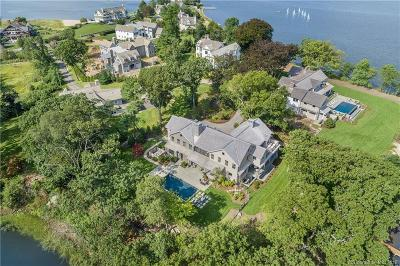 Darien Single Family Home For Sale: 17 Brush Island Road