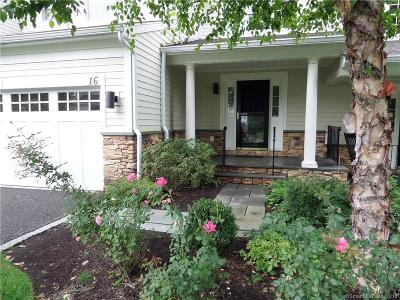 Ridgefield Condo/Townhouse For Sale: 638 Danbury Road #16