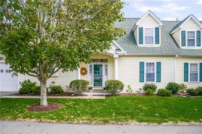 Old Saybrook Condo/Townhouse For Sale: 8 Blue Heron Way #8