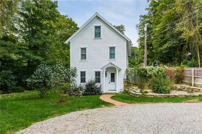 Ridgefield Single Family Home For Sale: 1 Saw Mill Hill Road
