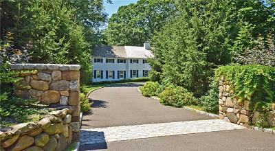 Darien Single Family Home For Sale: 265 Mansfield Avenue