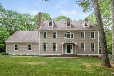 Old Lyme Single Family Home For Sale: 12 Matson Ridge