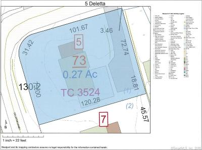 Westport Residential Lots & Land For Sale: 5 Deletta Lane