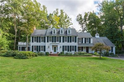Darien Single Family Home For Sale: 25 Indian Spring Trail