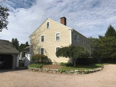 Stonington Single Family Home For Sale: 117 Pequot Trail