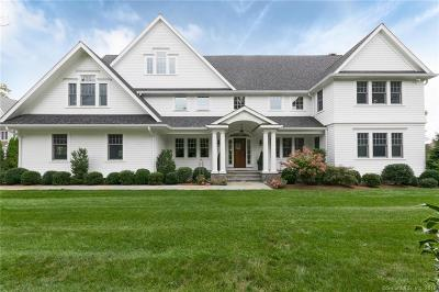 Darien Single Family Home For Sale: 174 Middlesex Road