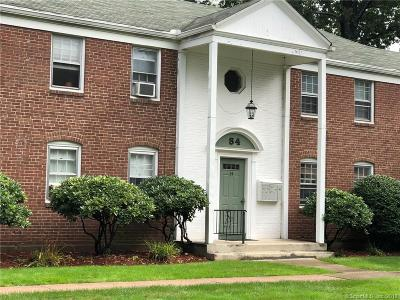 West Hartford Condo/Townhouse For Sale: 54 Robin Road #A2