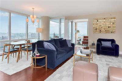 Stamford Condo/Townhouse For Sale: 1 Broad Street #17E