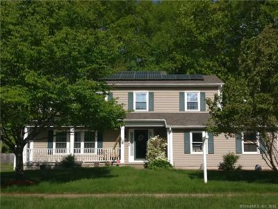 Windsor Single Family Home For Sale: 7 Pebblebrook