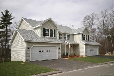 Tolland Condo/Townhouse For Sale: 16 Woodside Drive #16