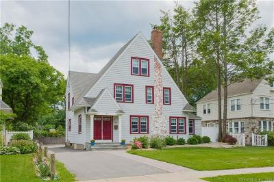 West Hartford Single Family Home For Sale: 203 Brace Road