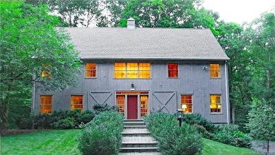 Ridgefield Single Family Home For Sale: 263 Limestone Road