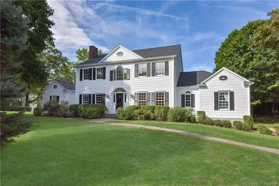 Ridgefield Single Family Home For Sale: 42 Barry Avenue