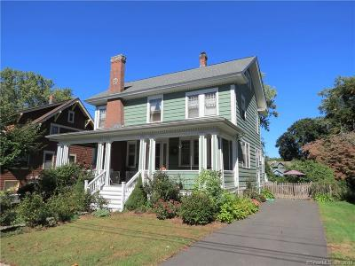 Wethersfield Single Family Home For Sale: 82 Church Street