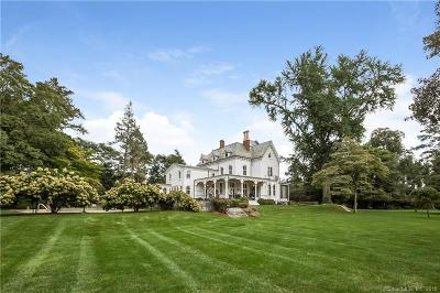 Darien Single Family Home For Sale: 2265 Post Road