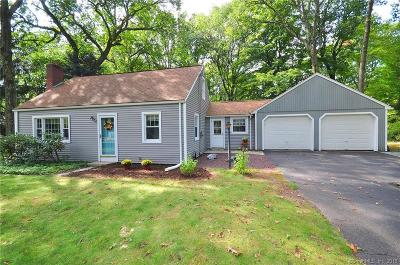 Simsbury Single Family Home For Sale: 3 Russell Lane
