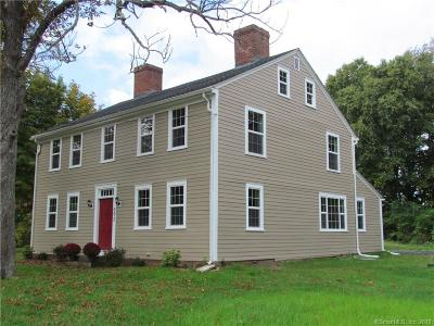 Suffield Single Family Home For Sale: 892 Sheldon Street