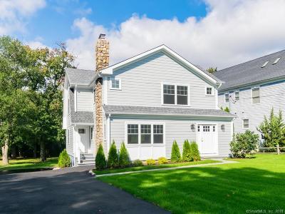 Darien Single Family Home For Sale: 45 Greenwood Avenue