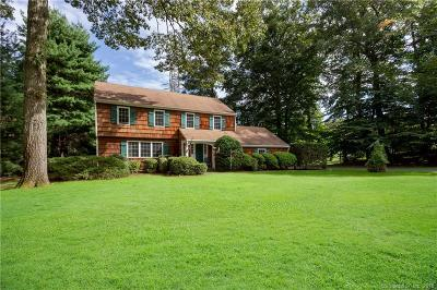 Darien Single Family Home For Sale: 18 Chasmars Pond Road