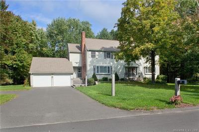 Simsbury Single Family Home For Sale: 18 Lincoln Lane