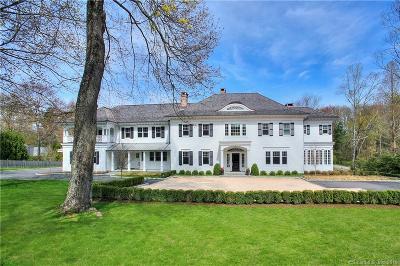 New Canaan Single Family Home For Sale: 549 Oenoke Ridge