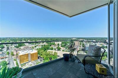 Stamford Condo/Townhouse For Sale: 1 Broad Street #PH27C