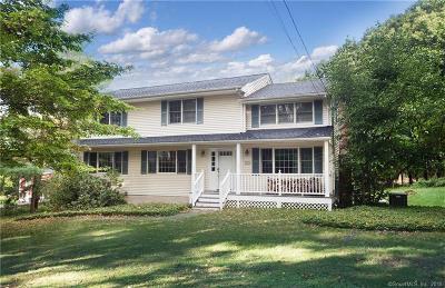 Ridgefield Single Family Home For Sale: 106 Peaceable Street